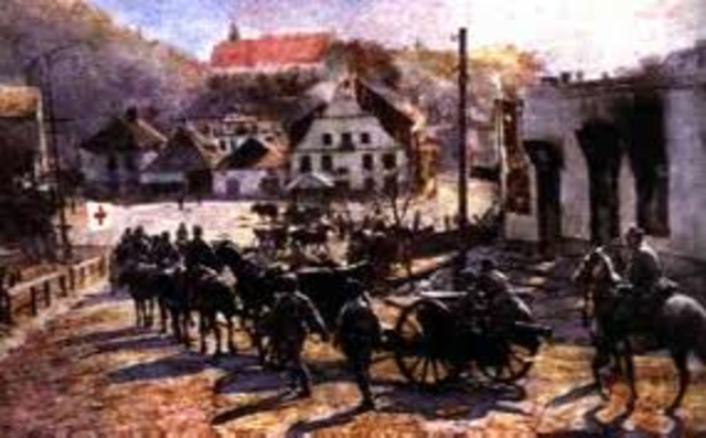Beginning of the Brusilov Offensive