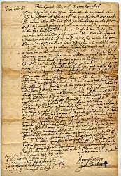 The Peace Treaty at Casco Bay