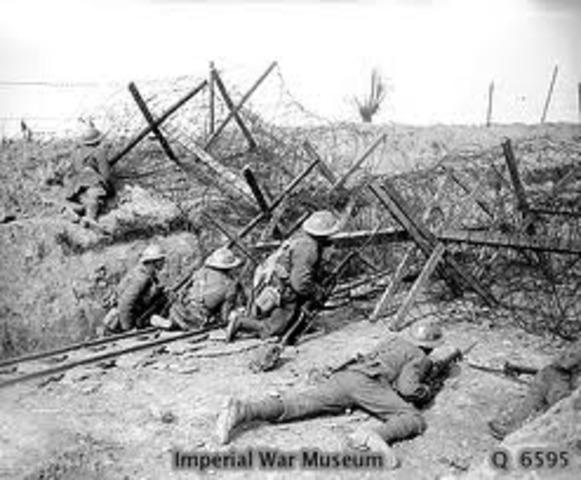 German Offensive at Flanders