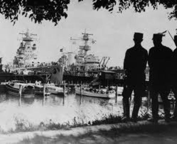 German Navy Mutinies