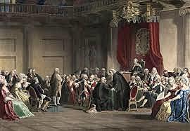 Ben Franklin warning Revolution