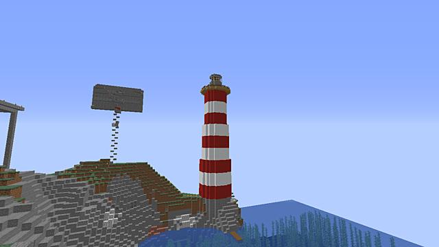 Crimstone Lighthouse Finishes Construction