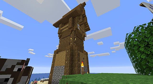 Monumantal Island Watchtower Built