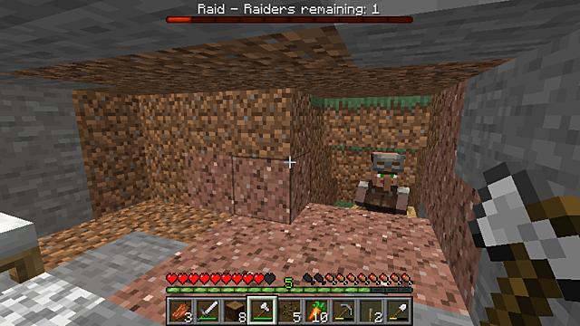 Modarm discovers hidden villager