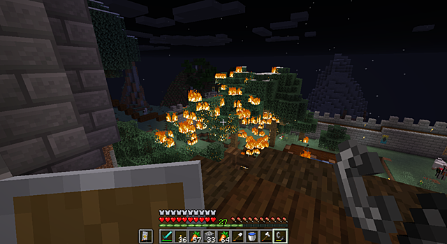 Wizard Castle Attack