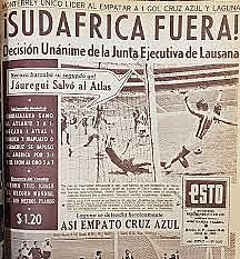 Sudáfrica y los JJOO de 1964