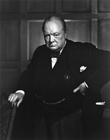 Winston Churchill prumer ministre