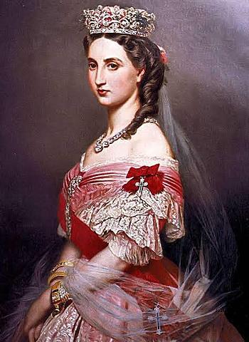 Nacimiento de la Emperatriz Carlota