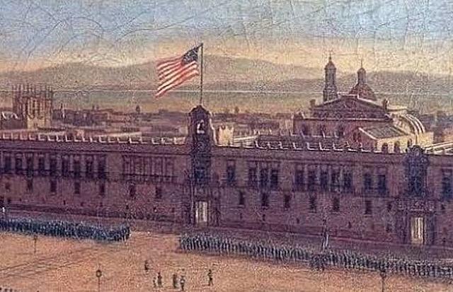 Ocupación de la Ciudad de México por el ejército de Estados Unidos
