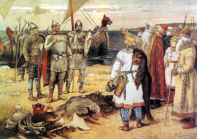 Начало крещения Руси