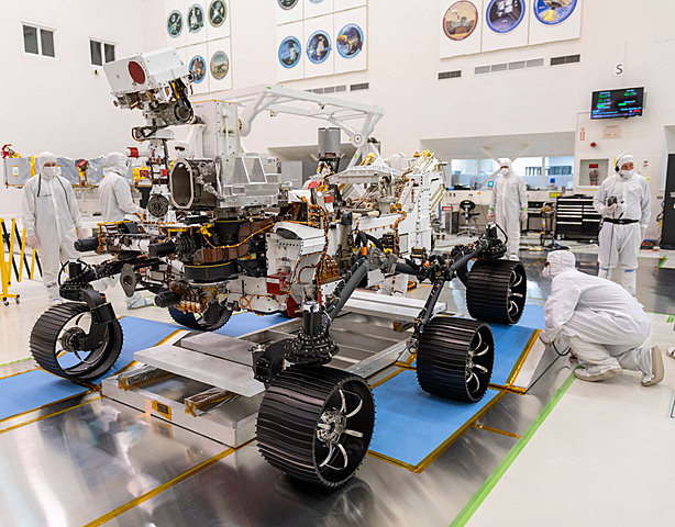 Mars 2020 Mission (Perseverance rover)