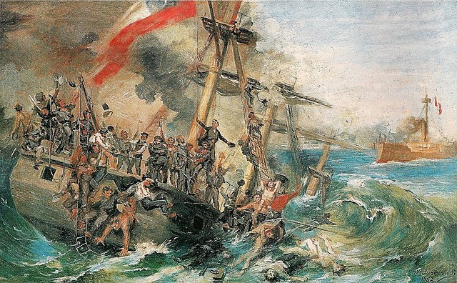 La guerra del Pacific