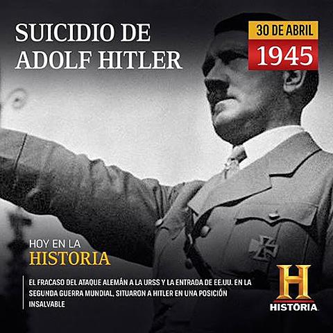 Hitler es suïcida