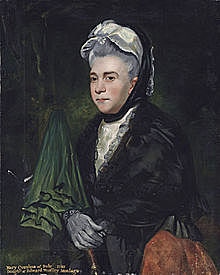 Daughter: later Mary, Countess of Bute