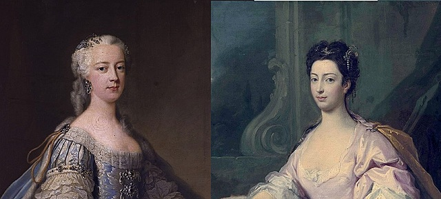The Princess's two daughters Amelia and Caroline successfully inoculated