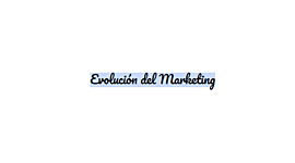 Evolución del Marketing timeline