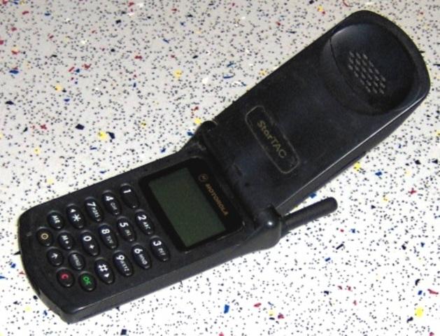 Nuestro primer Teléfono movil