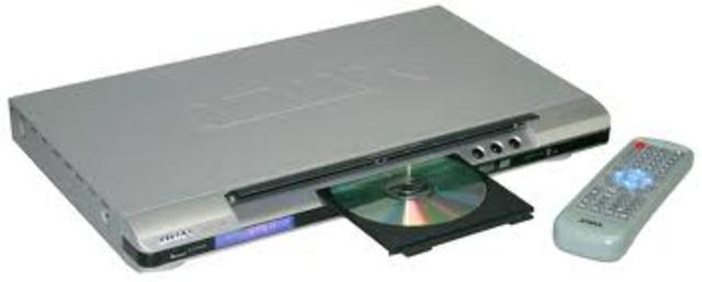 Tuvimos por primera vez un DVD en casa
