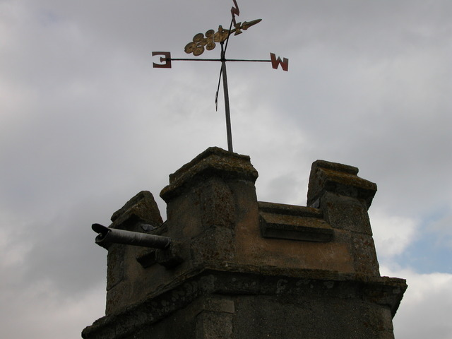 Church Tower modified extensively in 16th Century