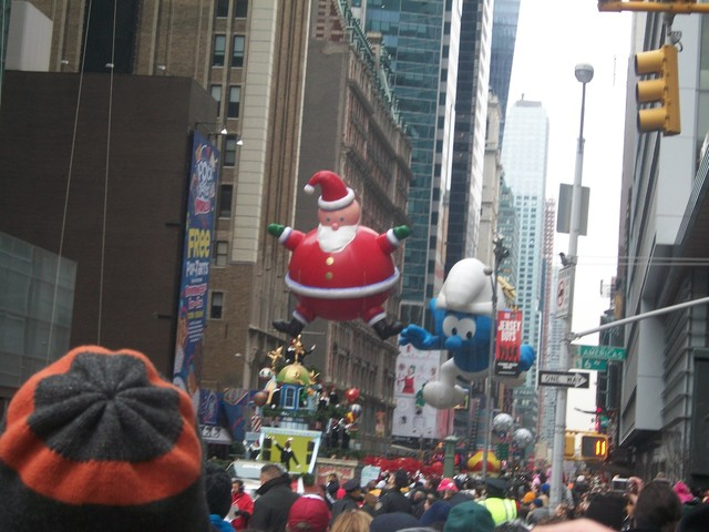 We went to the Macy's Day Parade!