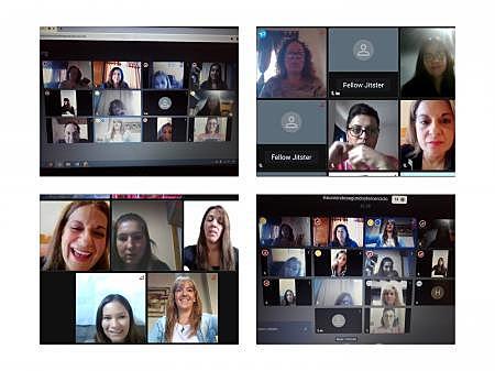 Primera Reunion virtual de directivos y docentes