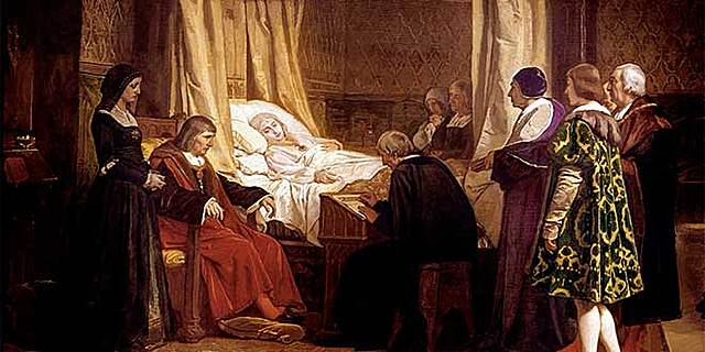Muerte de Isabel I