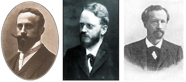 Correns, de Vries & Tschermak rediscover and verify Mendles principals