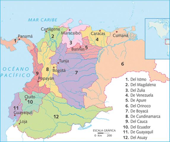 EL CONGRESO DE ANGOSTURA PROCLAMA LA CREACIÓN DE LA GRAN COLOMBIA