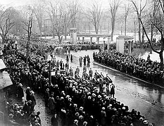 The Funeral of Sir Arthur William Currie