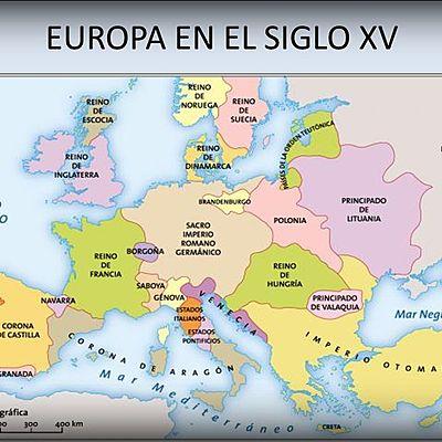 Acontecimientos importantes del siglo xv en Europa.  timeline