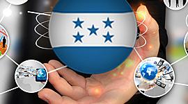 La Historia del Internet en Honduras timeline
