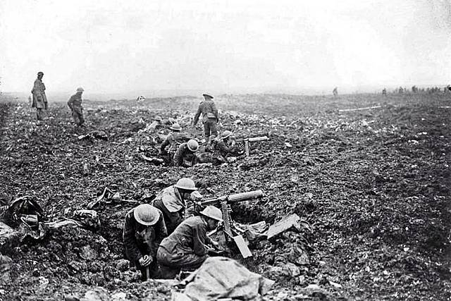 Researching for The Battle of Vimy Ridge