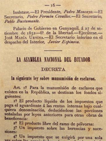 LEY DE LIBERTAD DE VIENTRES