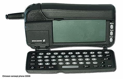 Primer telèfon mòbil