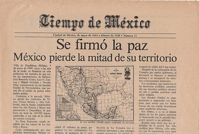 Firma del tratado de Guadalupe-Hidalgo