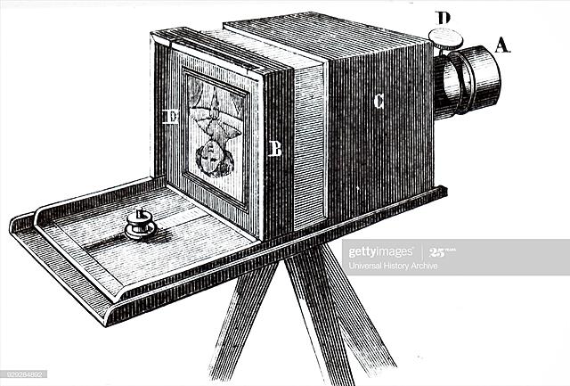 The daguerreotype was spread.