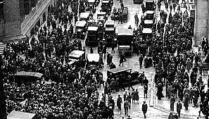 CAIDA DE LA BOLSA DE VALORES 1929