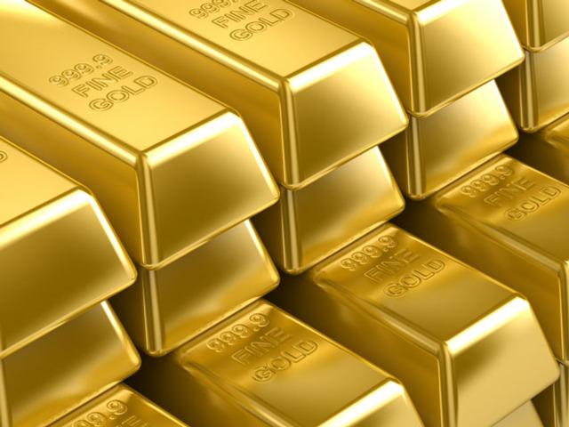 gold rocker