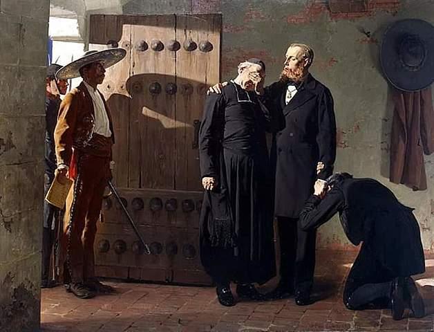 Sentencian a Maximiliano de Habsburgo y sus comandantes