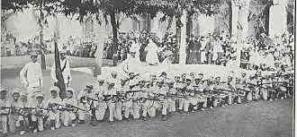 Bermejo, Educacion Militar
