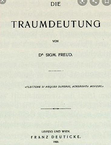 """Publicación de """"La interpretación de los sueños"""", Freud"""