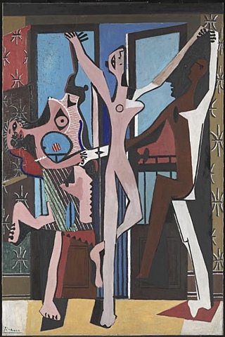 """Три танцора"" Пабло Пикассо"