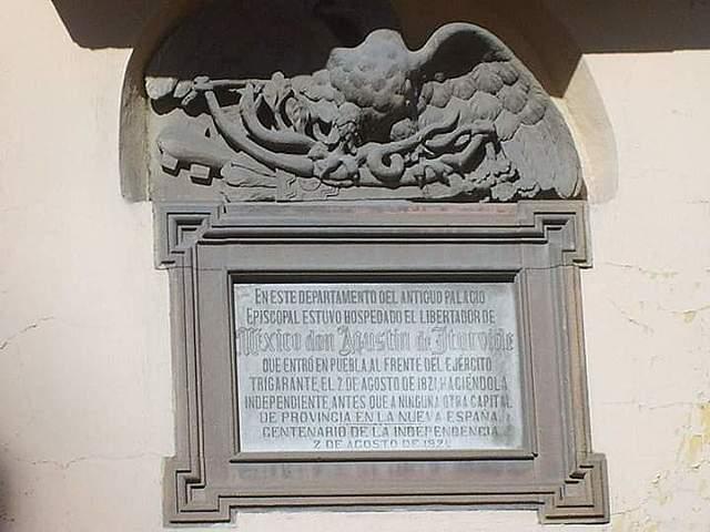 Llegada de Iturbide y el ejército Trigarante a la ciudad de Puebla