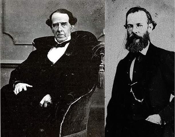 Mariano Riva Palacio y Rafael Martínez de la Torre, se entrevistaron con Sebastián Lerdo de Tejada y Benito Juárez.