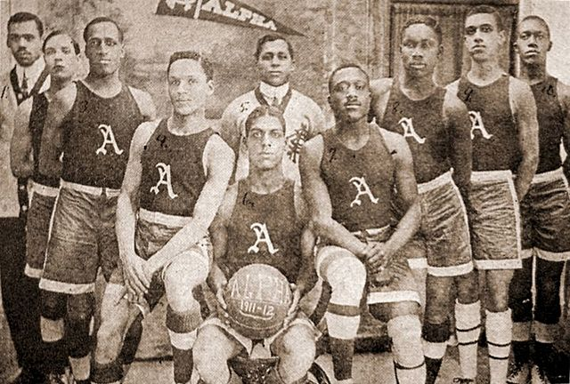Creation of all black Olympian Athletic League
