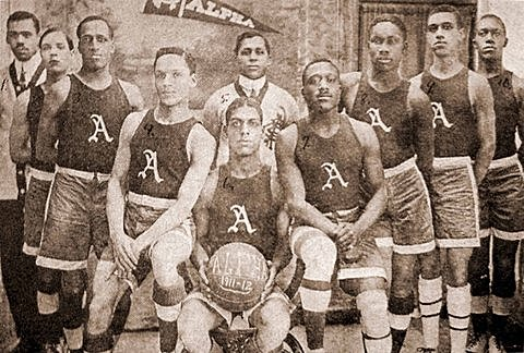 History of African American Basketball shifted