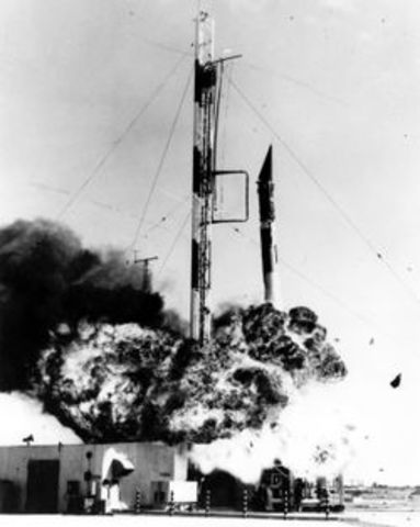 First US Attempt at Satelite Launch