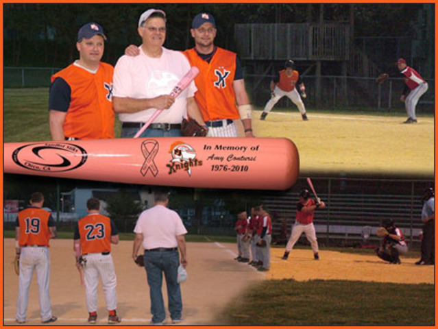 Game In Honor Of My Sister & Unvieling Of The Pink Bats