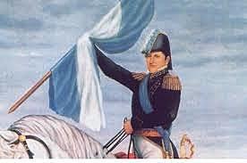 Manuel Belgrano enarbolo por primera vez la Bandera