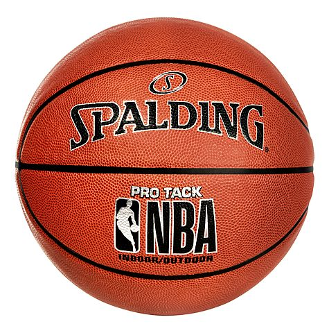 Spalding is Marketed as NBA Brand